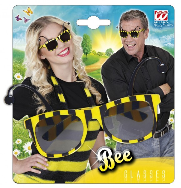 Lustige Marienkäfer Brille
