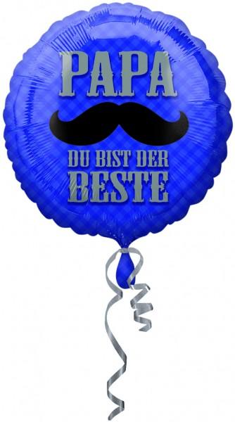 Folienballon Papa du bist der Beste 43cm