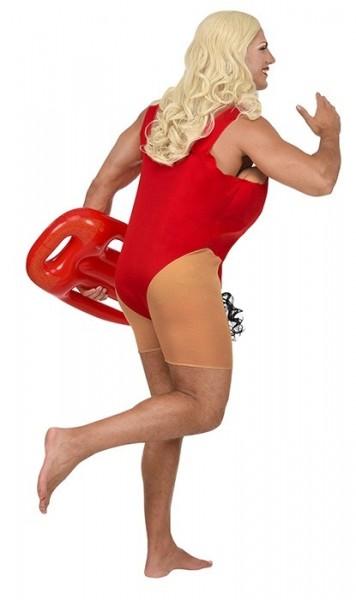 Disfraz de salvavidas brasileño para hombre