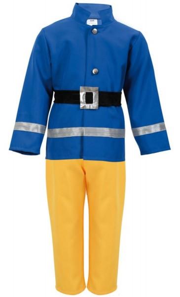 Kleine brandweerman kind kostuum
