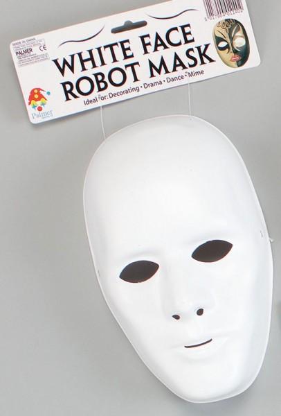 Masque blanc classique à usage universel