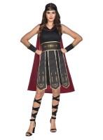 Costume de gladiateur romain Gina pour femme