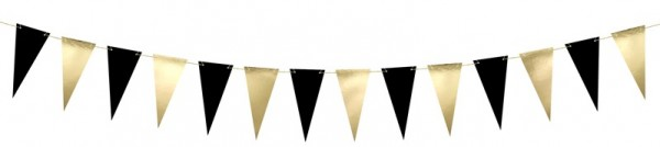 Black Celebration pennant chain 2.15m