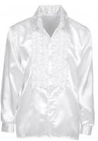 Weißes Rüschenhemd Classico