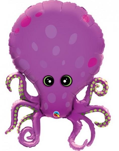 Squid Eddy Foil Balloon 89cm
