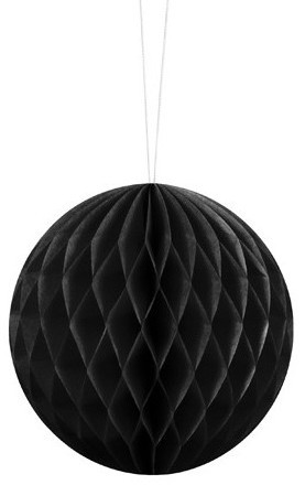 Honeycomb Ball Lumina Black 10cm