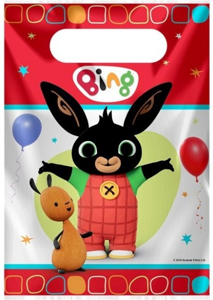 8 Bing and Flop gift bags