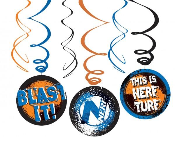 6 Nerf Have a Blast Spiral Hänger