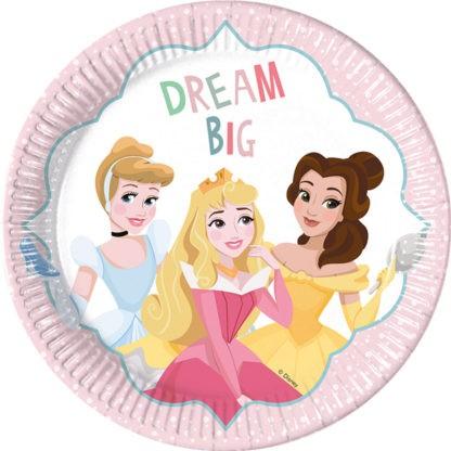 8 Charming Princess Pappteller Dream Big 23cm