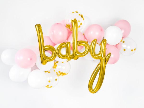 Globo de lámina para bebé dorado 73,5 x 73,5 cm