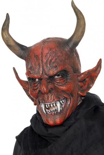 Creepy horror devil mask