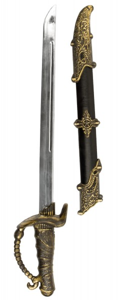 Pirate sword 52cm with sheath