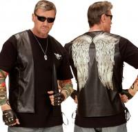 Dunkle Rocker Engel Weste