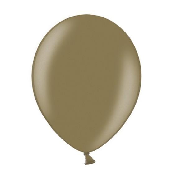 100 Luftballons capuccino 25cm