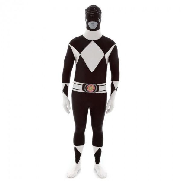 Ultimate Power Rangers Morphsuit schwarz