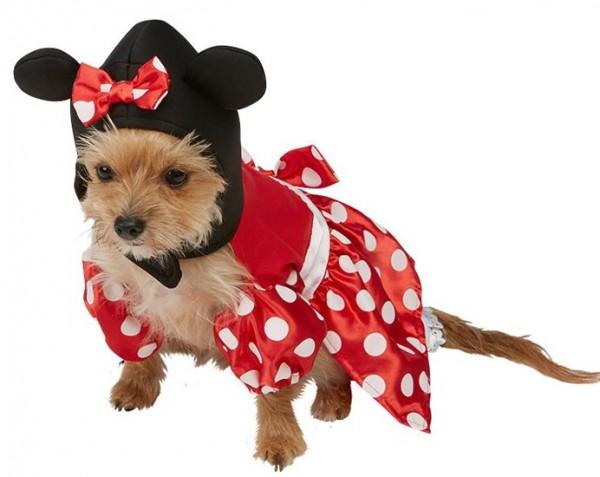 Hunde Minnie Mouse Kostüm