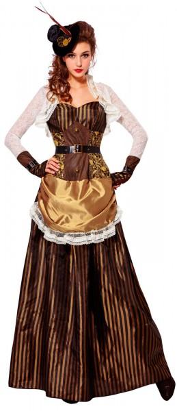 Steampunk kostuum klassiek voor dames