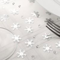 Schneeflocken und Diamanten Streudeko 28g