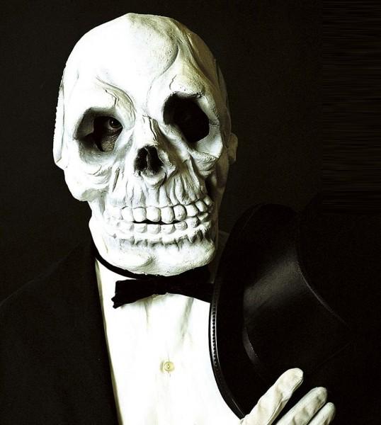 Unheimliche Grinsende Skelettmaske