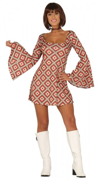 Grooviges 70er Jahre Kleid Michelle