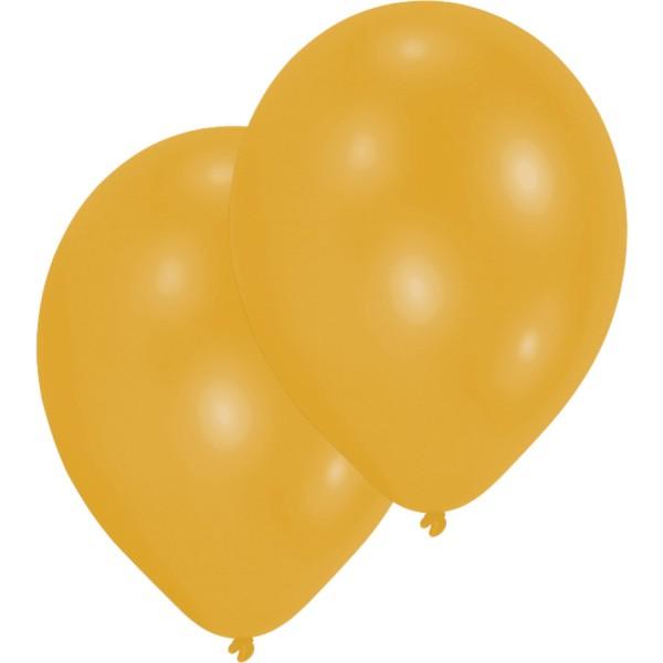 10 Goldene Luftballons Basel 27,5cm
