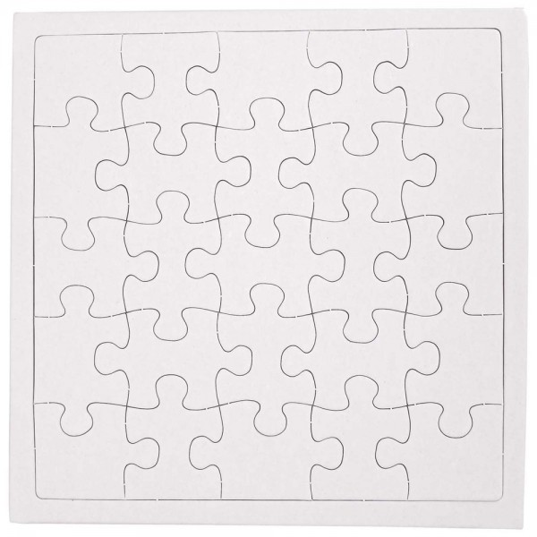 Puzzle to design yourself 21x21cm