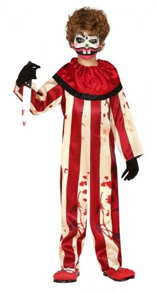 Horror circus clown kostuum voor jongens
