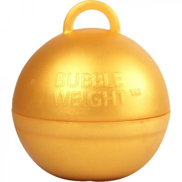 Goldenes Bubble Weight Ballongewicht 35g