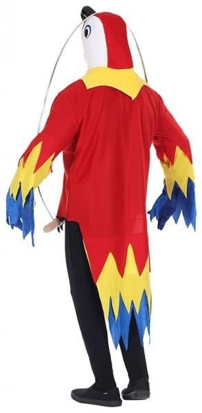 Lustiges Papageien Kostüm für Erwachsene