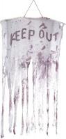 Keep Out Fransen Banner 1,5m