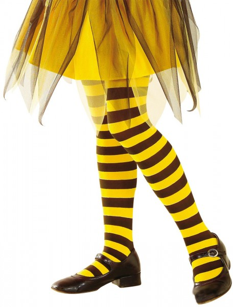 Pantimedias de abejas para niños