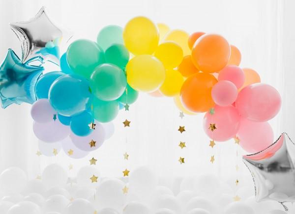 10 Ballons Eco pastel rose clair 26cm