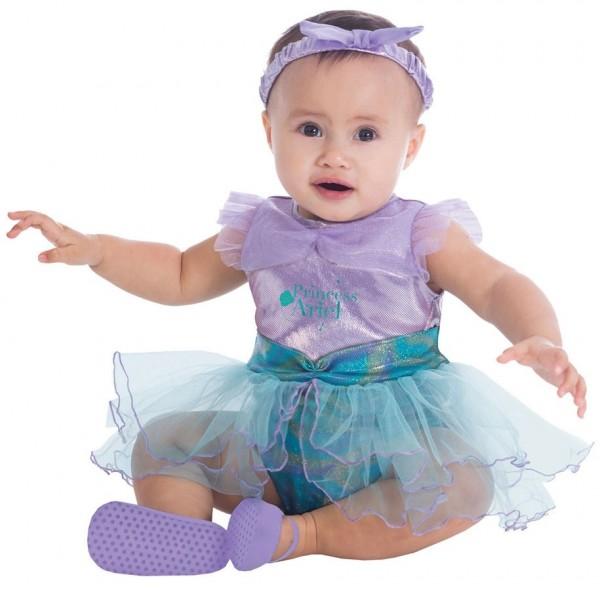 Süßes Meerjungfrau Kostüm für Babys