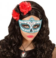 Tag Der Toten Glitzer-Augenmaske Ester