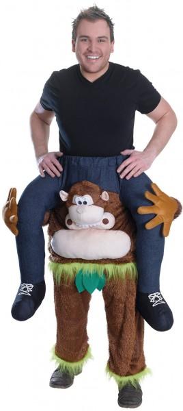 Monkey Rico piggyback costume