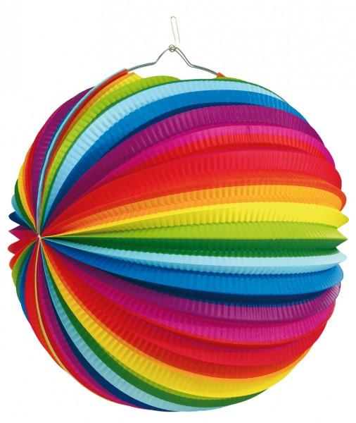 Kunterbunter Regenbogen Lampion Rainbow Nights 50cm