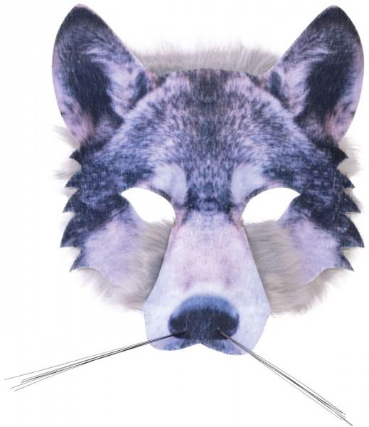 Masque de tête de loup photoréaliste