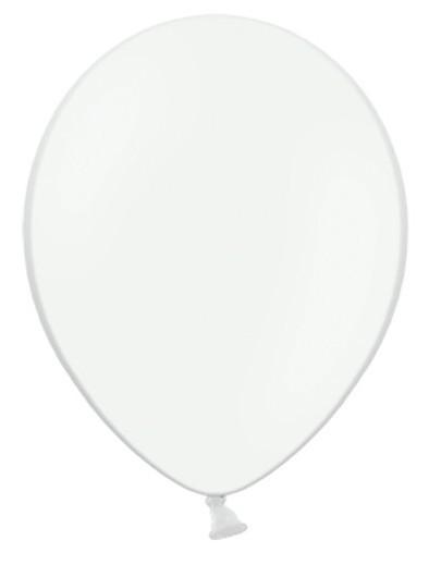 10 Ballons Weiß 30cm 1
