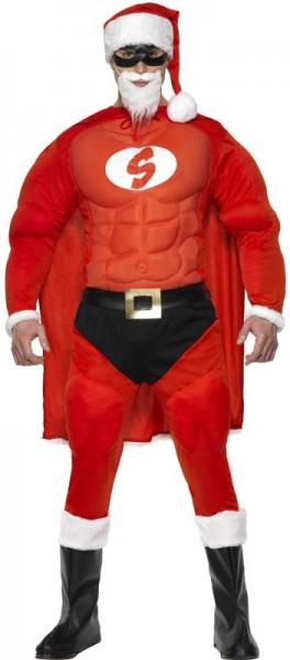 Superhero Santa Claus costume