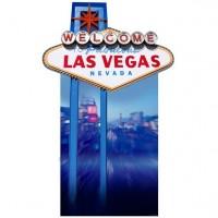 Welcome to Vegas Pappaufsteller 188cm