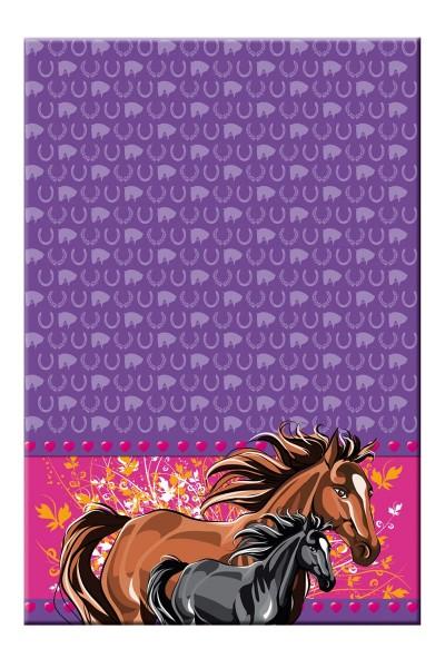 Horse love tablecloth 1.3 x 1.8m
