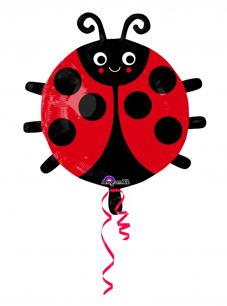 Folienballon Niedlicher Marienkäfer Maja