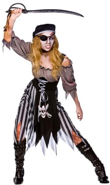 Costume sposa pirata zombie combattiva