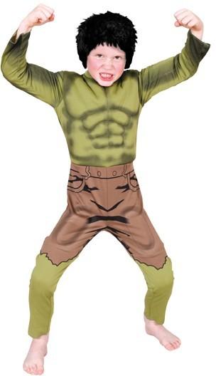 Halloween Kostüm Hulk für Kinder