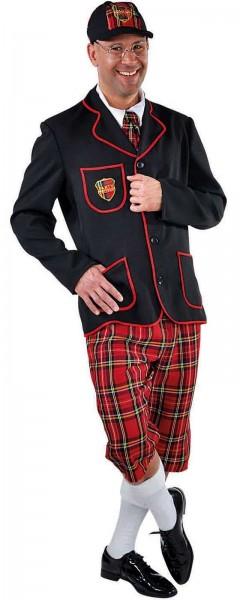 Duncan College kostuum voor mannen