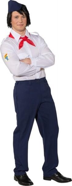 DDR Jung Pionier Kostüm Für Herren