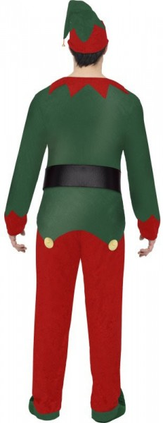 Disfraz de duende navideño para hombre
