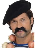 Klassieke baret zwart