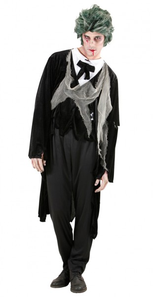 Traje de disfraces de Halloween Zombie Gothic