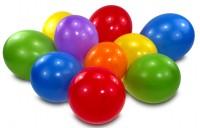 38 bunte Luftballons für Luftballonmatratze